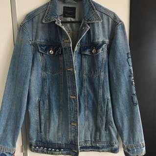 Zara denimwear jacket size S