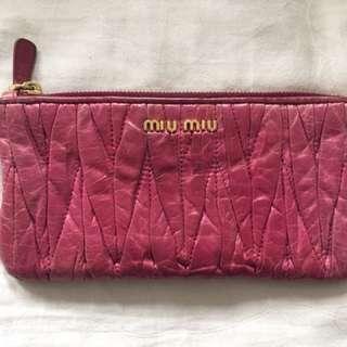 Miu Miu Metalese wallet