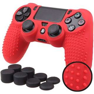 Studded Anti-slip Protective Soft Silicone Grip for PS4 Slim / Pro Controller