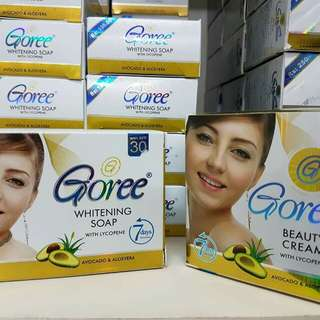Pre-Order Goree Whitening Soap and Beauty Cream