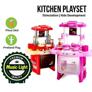 🔥#Kids Mini Kitchen Playset🔥
