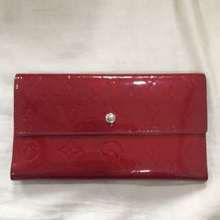 Louis Vuitton Vernis Long Wallet
