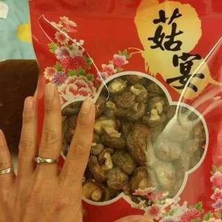 新社 乾香菇 ,鈕扣菇
