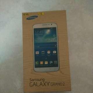 Samsung galaxy grand 2 empty box