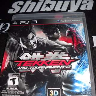 PS3 Game Tekken Tag Tournament 2