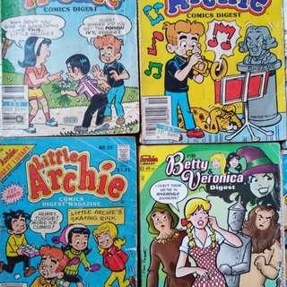 Archie comics (assorted)