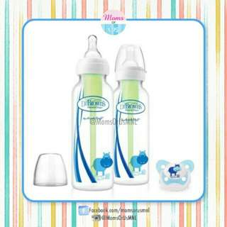 ‼️NEW‼️ DR. BROWN's Natural Flow Bottles and Pacifier (BLUE)