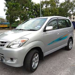TOYOTA AVANZA 1.3 (M) 1 OWNER LOW MILEAGE 4 NEW TYRE