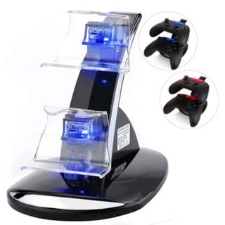 Xbox One Docking Station, CBSKY Xbox One, Xbox One S Charging Dock, Dual Controller Charger Kit for Xbox One, One S Console w LED Light, Black