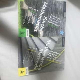 Further and Methods Cambridge unit 3/4 textbooks unused