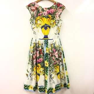 Dolce & Gabbana flowers dress size 36