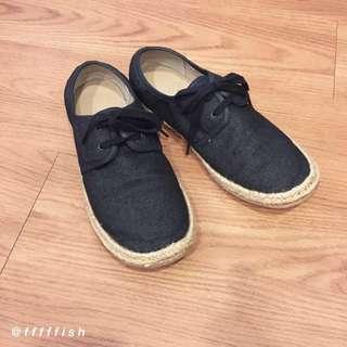 [降價]MUJI無印良品 草編平底休閒鞋