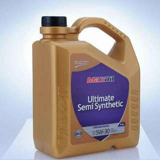 Maxoil 5w- 30 semi synthetic.perodua,suzuki swift,