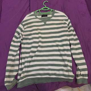 ZARA SWEATSHIRT STRIPED