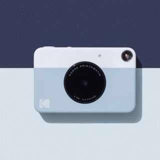 Kodak Printomatic 柯達數位拍立得相機/灰色//黃色/代購