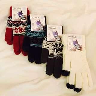 手機螢幕觸控手套 手襪 (購自韓國)