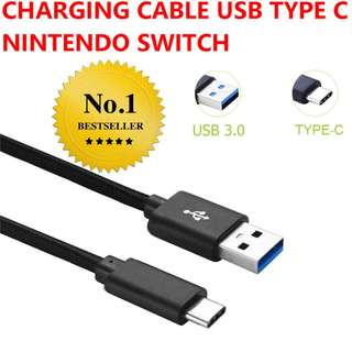 Power cable USB TYPE C Nintendo Switch