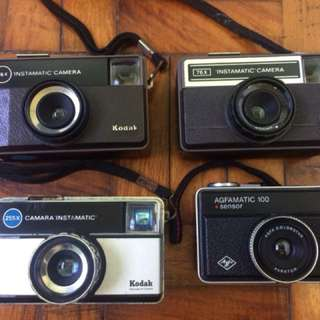Vintage Instamatic 126 film Camera