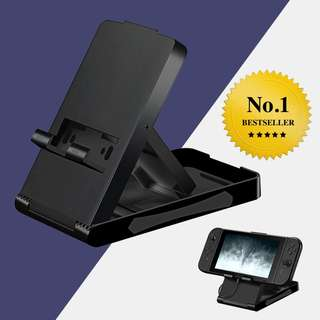 Stand Holder for Nintendo Switch Adjustable Foldable Portable Compact Bracket Playstand