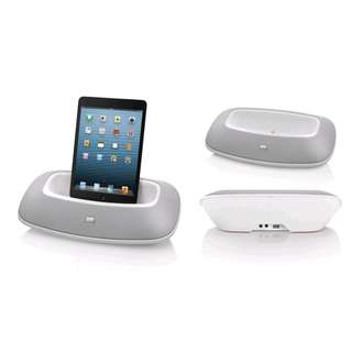 JBL OnBeat Mini iPad & iPhone Dock & High Performance Speaker Lightning Connector (white)