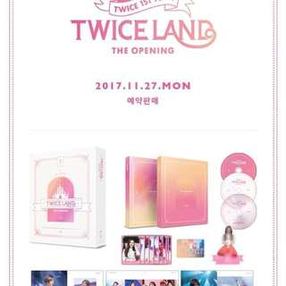 TWICELAND The Opening DVD