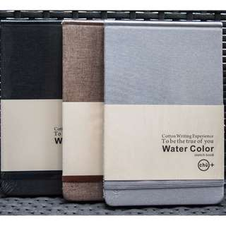 (NEW) Cotton Watercolor Art Journal (A5)