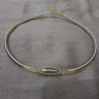 Authentic Phiten Titanium Sports Necklace