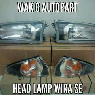 Head Lamp Wira Se