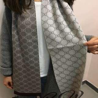 全新Gucci頸巾(厚身)