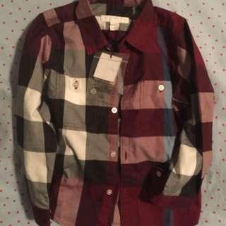 Boys Burberry Dress Shirt