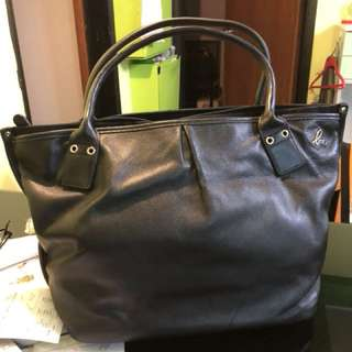 Agnes B leather bag