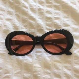 Vintage Oval Sunglasses