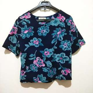 THIS IS APRIL Floral Top