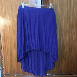 Mullet Chiffon Long Back Skirt (Forever 21, Zara, Topshop, H&M)