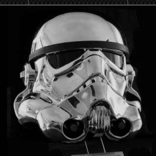 Efx Collectibles Chrome Storm Trooper Helmet