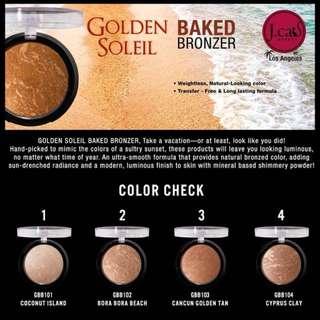 JCAT Golden Soleil Baked Bronzer