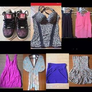 Dress Tops 4 pcs for 500 (Forever 21, Zara, Topshop, H&M)