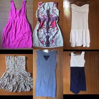 Bundle for 300 save 150 Dress (Forever 21, Zara, Topshop, H&M)