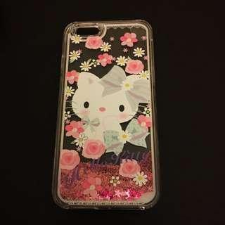 Hello Kitty Iphone 6s流沙手機殻