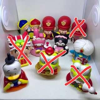 Sanrio characters x 7-11 collection Patty & Jimmy My Melody Tuxedosam Minna No Tabo Kerokerokeroppi Keroppi Pekkle Monkichi Kuromi 大口仔 馬騮仔