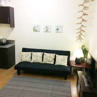 fully furnished 40 sqm condo