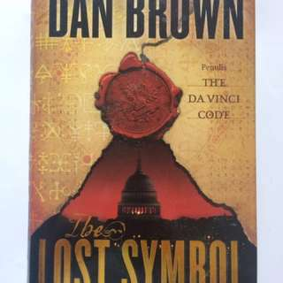Novel The Lost Symbol (hard cover)