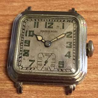 30s HAMILTON 咸美頓錶