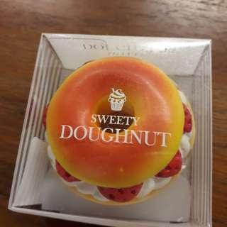 🚚 可愛甜甜圈無色護唇膏 #我的美妝可超取