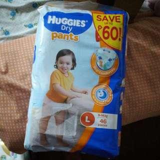 Huggies Dry Pants (46pcs) Size L