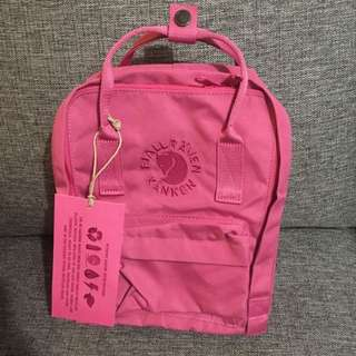 火狐狸新款backpack rose pink small size