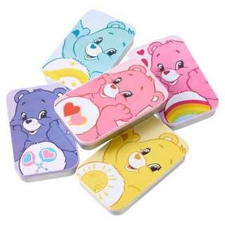 【聖誕禮物首選】care bear 彩虹熊鐵盒 汽水糖 涼菓子 公仔鐵盒 飾品收納盒 zakka小物收納