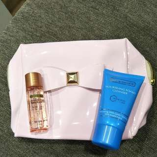 Bio-essence Mini Set-cleanser And Rose Gold Water