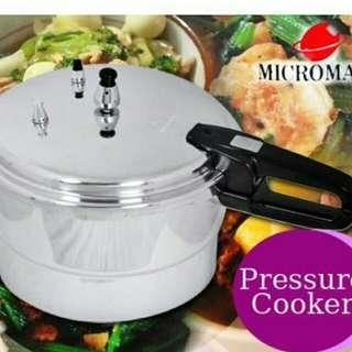 Micromatic pressure cooker