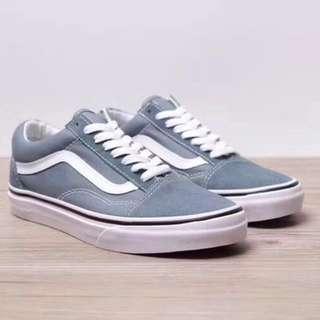 Vans灰色麂皮鞋🐘